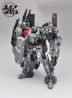 Gundam Family: 1/100 RGM-96X Jesta Onrush Type Custom Build