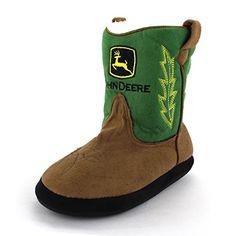 John Deere Boys Green Cowboy Boot Slippers (L/XL (3-5 M U... https://www.amazon.com/dp/B00OJ95Y7C/ref=cm_sw_r_pi_dp_ZH4HxbWP67PTW