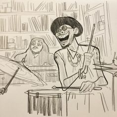 Image result for ian abando Drum Lessons For Kids, Anderson Paak, Character Art, Character Design, Animation Sketches, Pretty Drawings, Comic Panels, Cool Sketches, Album Covers