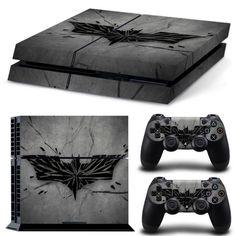 Batman/Joker/Harley Quinn PS4 Decal with FREE matching Controller Skins