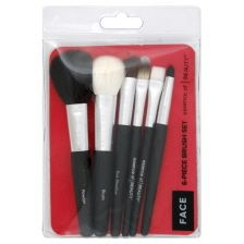 Essence of Beauty face brushes. Comes in a pack of six and they're only $10 @ CVS. If you want high quality but can't spend the big bucks, buy these brushes!!!!