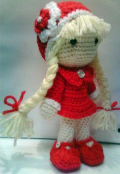 "Crochet doll ""Pricilla"""