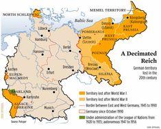 Restdeutschland u Kalte Heimat. Schlesien.