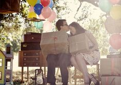 Engagement Shoots Inspired by Movies: If you're planning an engagement shoot, you probably want to set a romantic, emotional mood, and what better way than with a theme from a movie?