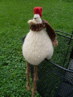 poulet tricoté avec amour