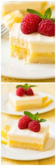 Cheesecake Lemon Bars