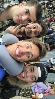 Rix, Juanpa y Mario