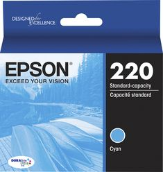 Epson - 220 Ink Cartridge - Cyan (Blue)