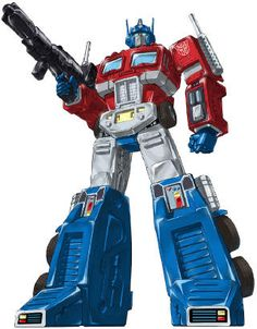 If it would be acceptable to be in love with a robot, I'd be head over heels for Optimus Prime.