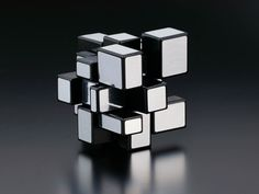 Rubik's Mirror blocks designed by Hidetoshi Takeji