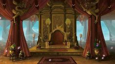 Director/Gakubu-cho - HP Charter Magic World Episode Interactive Backgrounds, Episode Backgrounds, Chinese Architecture, Ancient Architecture, Fantasy World, Fantasy Places, Casa Anime, Throne Room, Robot Concept Art