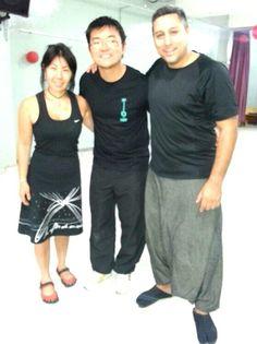 Shou Ryu Daiko junto a Sensei Yoohey Kaito