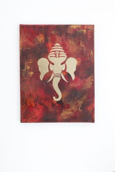 The Lord Ganesh painting which I make. See more here: http://www.chakra-art.co.uk/portfolio/ganesh-series/