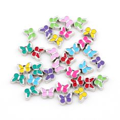 Find More Charms Information about Newest 20pcs/lot Enamel Colorful Butterfly Floating Charm Fit Living Memory Locket Women Jewelry,High Quality jewelry decor,China locket shop Suppliers, Cheap jewelry chain by the foot from Shuyani  jewelry store  on Aliexpress.com