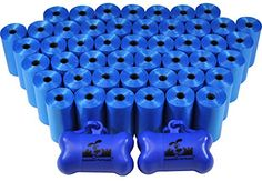 1000 Pet Waste Bags, Dog Waste Bags, Bulk Poop Bags on a roll, Clean up poop bag refills - (Color: Blue) + 2 FREE Bone Dispensers by Downtown Pet Supply - http://www.petsupplyliquidators.com/1000-pet-waste-bags-dog-waste-bags-bulk-poop-bags-on-a-roll-clean-up-poop-bag-refills-color-blue-2-free-bone-dispensers-by-downtown-pet-supply/