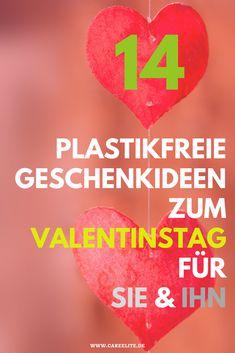 14 tolle plastikfreie Geschenkideen für Frauen und Männer. #valentinstag #plastikfrei #geschenke #geschenkideen #frauen #männer #valentinesday