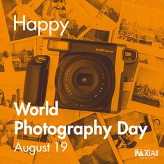 August 19 - World Photography Day