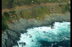 Vista aérea del sitio, un lugar tranquilo y sólo el ruido del mar!!! Incluye helipuerto.