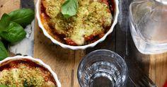 Un dejeuner de soleil: Parmigiana d'aubergines légère