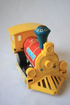 train #fisher_price #little_people #vintage