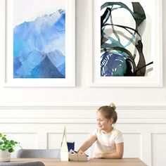 Into Hills Wall Art Prints by Lesley Smith | Minted