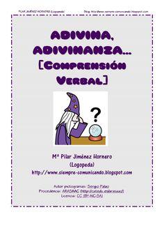 adivinanzas-variaspjh by pilar_jhornero via Slideshare Fails, Spanish, Classroom, School, Blog, Therapy Ideas, Texts, Speech And Language, Special Education