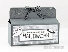 12 Weeks of Halloween 2016 Week 2 with Stampin' Up! Demonstrator Angie Juda