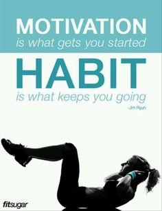 Form a habit!