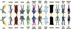 D.C. Villains Character Sheet 064