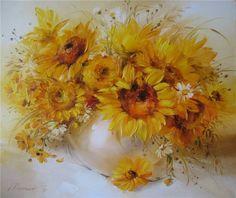 Анна Хомчик 1976 | Ukrainian Still life painter | The sweet moments