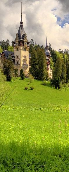 Romania Travel Inspiration - Peles Castle, Sinaia, Romania                                                                                                                                                                                 More