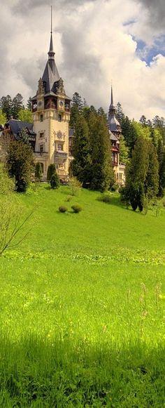 Romania Travel Inspiration - Peles Castle, Sinaia, Romania                                                                                                                                                                                 More