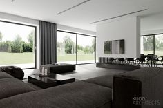 PABIANICE House (Poland) on behalf – Home Interior Design – decorationtrends Luxury Home Decor, Luxury Interior, Home Interior Design, Interior Architecture, Luxury Homes, Modern Interior, Living Room Interior, Home Living Room, Living Room Designs