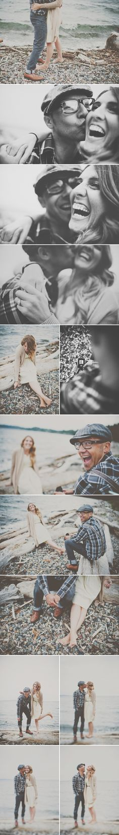 The red balloon photography | seattle coules photographer- great at capturing the personalities of the couple!