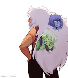 Jasper, Peridot and Lapis