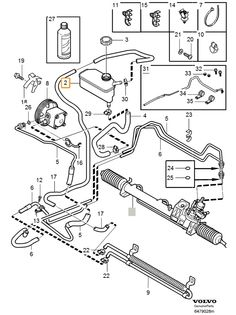 2006 volvo    xc90    engine    diagram      FINALLY  a Vacuum Hose