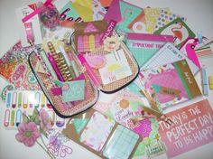 Planner/Snail Mail/Stationery/Pen Pal/Scrapbooking/Junk Journal Kit by ASprinkleOfLovely on Etsy