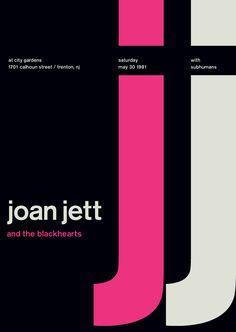 joan jett at city gardens, 1981