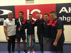 Shaun&Joel Smith,Billy&Steven Stretch,Jack&Todd Viney.
