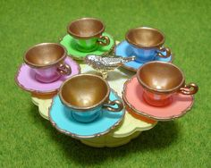 Re-ment (Rement) Miniatures : Princess Tea Party by HarapekoDoggyBag, via Flickr