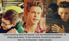 Reblogging Glee Confessions that I agree with.