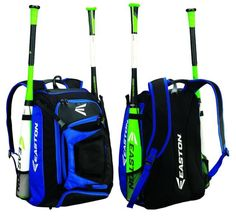 Easton Walk Off Baseball/Softball Bat Equipment Backpack Bag