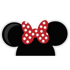 Mouse Ears Girl SVG cut files for scrapbooking mouse ears svg files free svg…