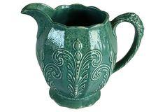 Embossed Ceramic Pitcher on OneKingsLane.com