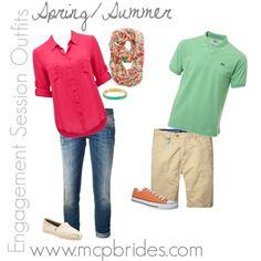 Spring/Summer Engagement Session Outfit Ideas mcpbrides.com Elizabethtown, KY