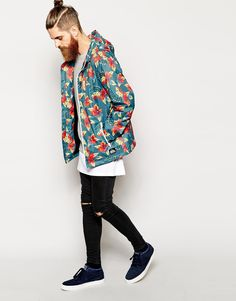 Quiksilver x Floral Printed Jacket x streetHyped