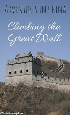 Great Wall of China via christineknight.me Travel Packing, Us Travel, Family Travel, Group Travel, Places To Travel, Great Wall Of China, Adventure Activities, Travel Advice, Travel Hacks