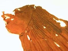 Uvdal Dress - part of woman clothing found in grave No.33 in Uvdal, Stave Church (Norway). End of 14th century.
