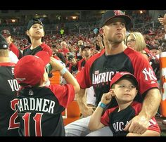 All Star Gardy and co. at the Home Run Derby 7/13/15