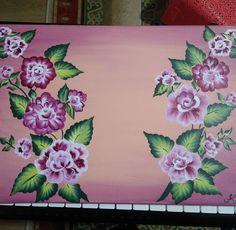 Akrilik boya çiçek çizimi Painting, Art, Art Background, Painting Art, Kunst, Paintings, Performing Arts, Painted Canvas, Drawings